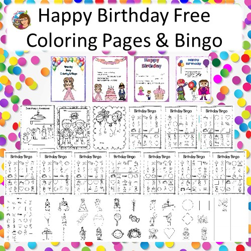 Free Birthday Party Bingo Printable