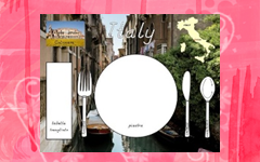 Italy Letter Sized Placemat