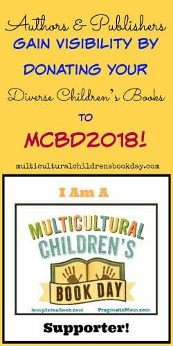 Authors and publishers donate books for the 2018 Multicultural Book Day