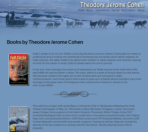 Theodore Jerome Cohen Children's Author