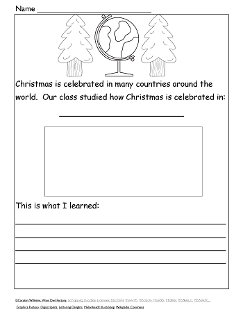 Christmas-around-the-world-writing-page