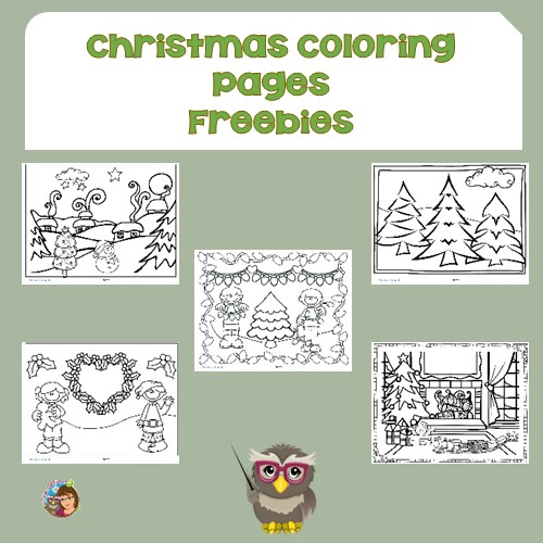 Coloring Pages For Christmas Children Free