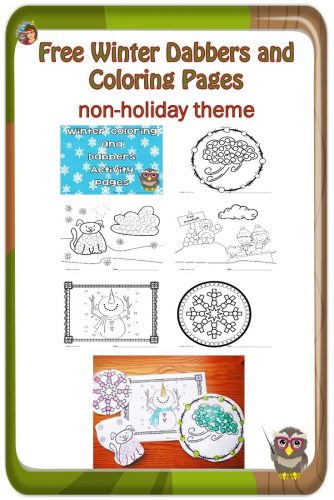 Dabbers-and-coloring-pages-freebie-winter-theme