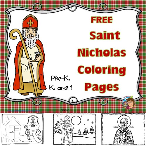 Saint-Nicholas-free-coloring-pages