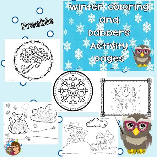 Winter Dabber Free Instant Download PDF