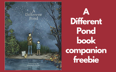 A Different Pond Book Companion Freebie PDF