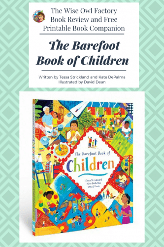 The Barefoot Book of Children MCBD 2018 -- this post has a book review of the Barefoot Book of Children and a free printable to accompany the book