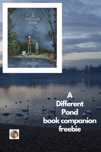 A Different Pond Book Companion Freebie -- This post has a free PDF for teachers to use with the book A Different Pond by Bao Phi.