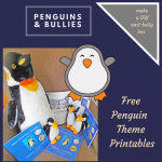 Penguin Freebies and DIY Anti-Bully Box