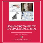 Sequencing Cards for the Mockingbird Song Freebie