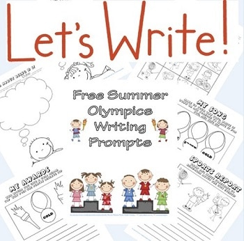 Summer Olympics Writing Frames Free Download