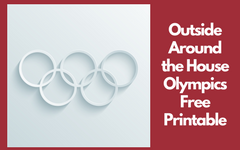 Outside the House Olympic Events Activity Free PDF
