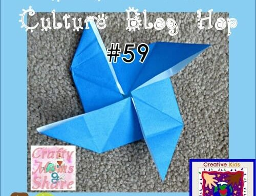 Creative Kids Culture Blog Hop #59 and Origami