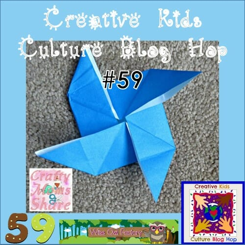 Creative Kids Culture Blog Hop #58 and Origami