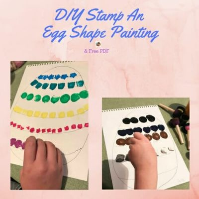 DIY-shape-stamp-an-Easter-egg-shape