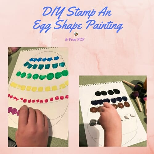 DIY-shape-stamp-an-Easter-egg-shape