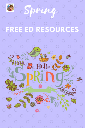 Spring Learning Free Instant Download Resources This post has links to educational materials on the blog.
