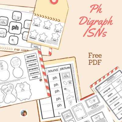 Ph -Digraph-phonics-freebie-ISNs