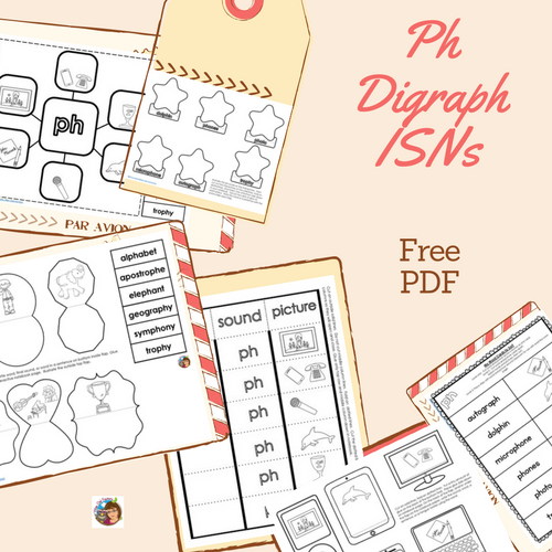Ph -Digraph-phonics-freebie-ISNs