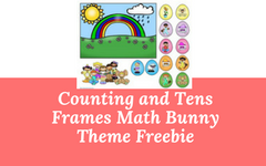Counting and Tens Frames Math Bunny Theme