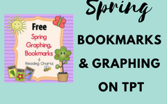 Spring and Earth Day Graphing and Bookmarks