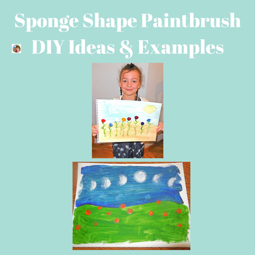 DIY-Sponge-Painting-Ideas-using-shape-brushes