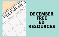 December Free Educational Materials