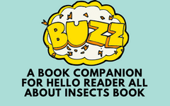 BUZZ! A Book About Insects, Hello Reader Free Printable