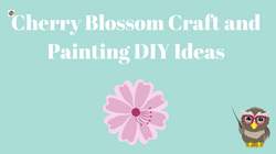 Cherry Blossom Craft and Painting Ideas Blog Post