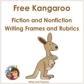 Kangaroo Writing Frames