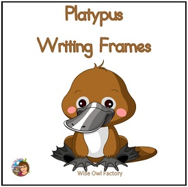 Platypus Writing Frames