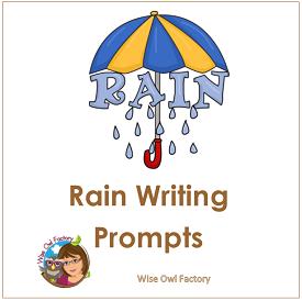 Rain Writing Prompts