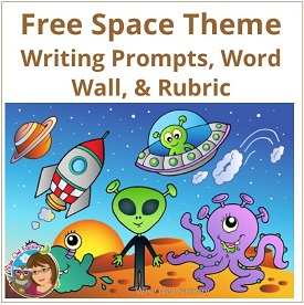 Space Writing with Word Wall, some pages editable