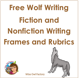 Wolf Writing Frames