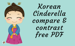 Korean Cinderella Compare and Contrast with USA Cinderella