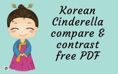 Korean-Cinderella-Compare-Contrast-PDF