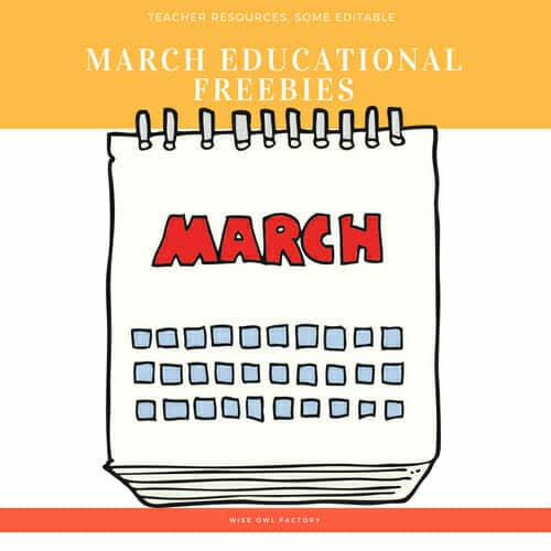 March-free-educational-resources-teachers-elementary-grades
