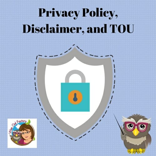 Privacy Policy, Disclaimer, and TOU