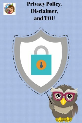 Privacy Policy, Disclaimer, and TOU -- Wise Owl Factory Educational Sites and Blog DISCLAIMER and TOU AGREEMENT