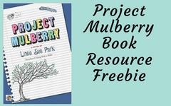 Project-Mulberry-book-resource-freebie-for-teachers