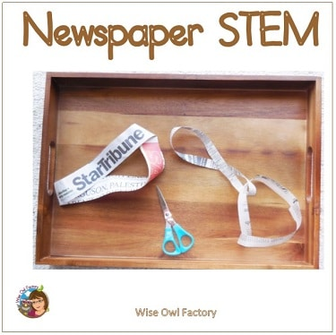 STEM-experiments-with-newspapers
