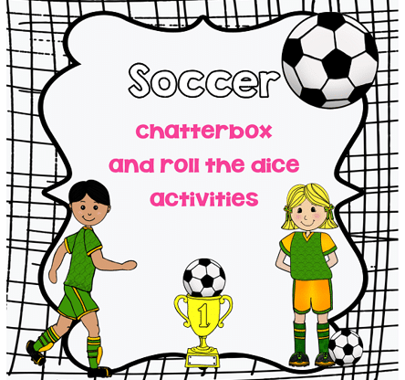 Soccer-theme-roll-the-number-and-chatterbox-freebie