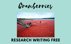 Cranberries Revealed by Wayne R. Martin Review and educational freebies