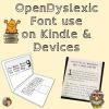 open dyslexic font