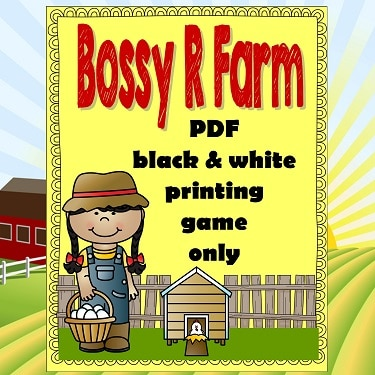 Bossy-r-farm-game-only-black-and-white-printing
