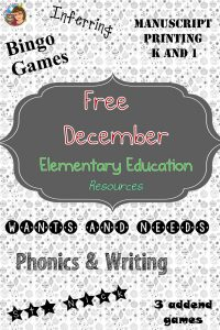 December-freebies-elementary-education-and-writing