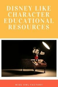 Disney-like-characters-educational-resources-printable-PDFs-free