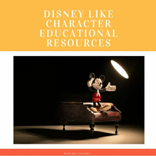 Disney-like-characters-educational-resources-printable-PDFs-freebies