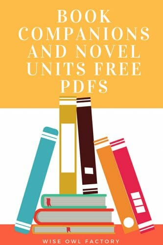 Book Companions and Novel Units Free PDFs This post has links to the free book companions for emergent through advanced readers from K-6.