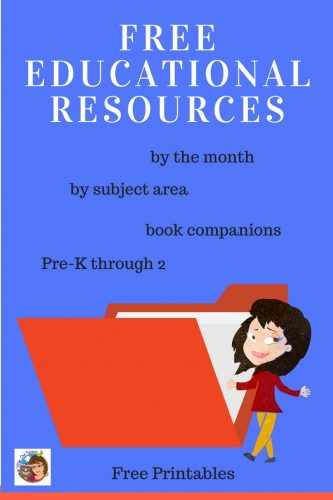 Free Educational Downloads such as book companions, educational resources by the month, instant downloads, and subject area printables.